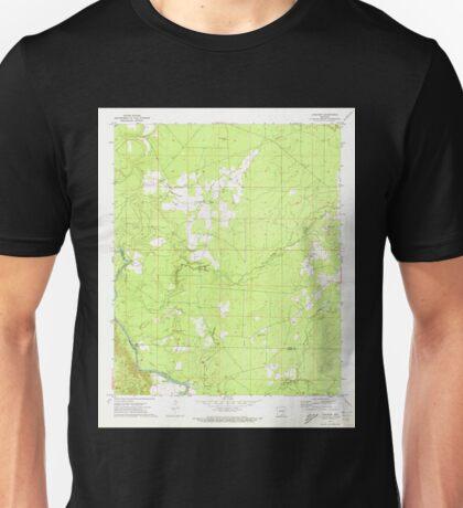 USGS TOPO Map Arkansas AR Longview 258954 1971 24000 Unisex T-Shirt