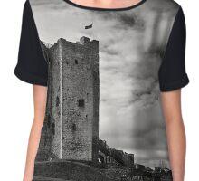 Trim Castle Chiffon Top