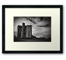Trim Castle Framed Print