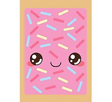 Strawberry Pop Tart Photographic Print