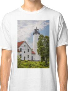 Point Iroquois Lighthouse - Michigan Classic T-Shirt