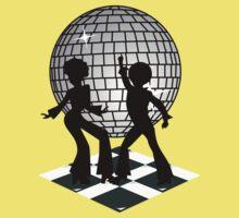 Retro Music DJ! Feel The Oldies! Baby Tee