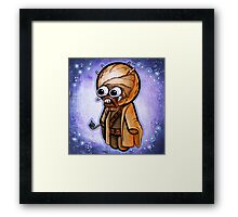 """Sand Person"" POOTERBELLY Framed Print"