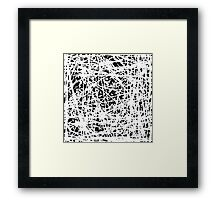 Whispers In The Dark Framed Print