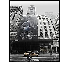 Fifth Avenue at 54th Street Photographic Print