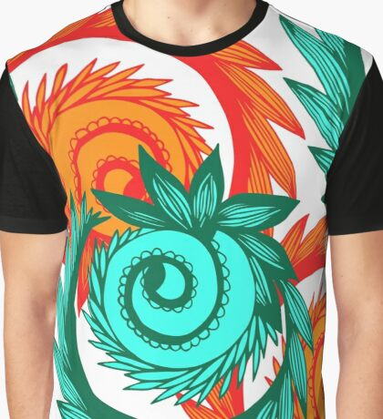 Bright Ornaments Graphic T-Shirt