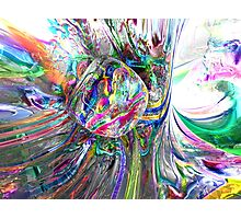 Frozen Rainbows Abstract Photographic Print