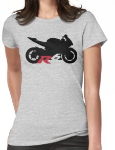 Yamaha R6 Silhouette Womens Fitted T-Shirt