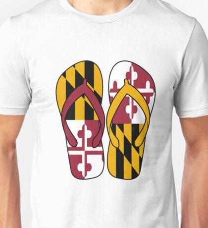 Maryland Flip Flops Unisex T-Shirt