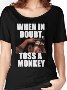 Black Ops 2 Monkey Bomb Women's Relaxed Fit T-Shirt
