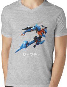 Mecha - Orbital Frame Jehuty Mens V-Neck T-Shirt