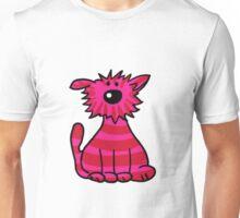 Pink Wild Cat Unisex T-Shirt