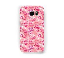 PinK Pong Samsung Galaxy Case/Skin