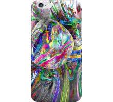 Frozen Rainbows Abstract iPhone Case/Skin