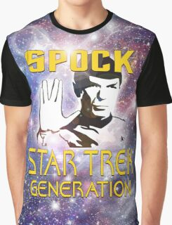 Spock Star Trek Generation Graphic T-Shirt
