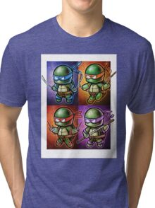 """QUAD"" POOTERBELLIES Tri-blend T-Shirt"