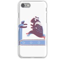 Hamster Escapes the Wheel iPhone Case/Skin