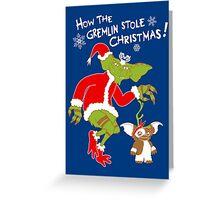 That's Not Santa! Greeting Card