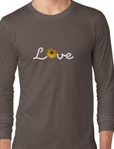Love with flowers - White Long Sleeve T-Shirt