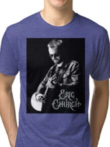 eric church live concert Tri-blend T-Shirt