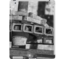John Deere Tractor Parts BW iPad Case/Skin