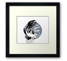 Koi Ink Framed Print