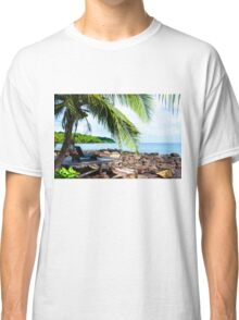 Beautiful tropical landscape Classic T-Shirt