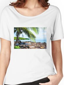 Beautiful tropical landscape Women's Relaxed Fit T-Shirt