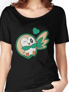 ROWLET Women's Relaxed Fit T-Shirt