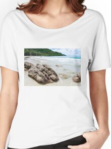 Beautiful tropical beach Women's Relaxed Fit T-Shirt