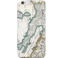 Vintage Map of Italy (1706) iPhone Case/Skin