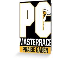 PC MASTERRACE Greeting Card