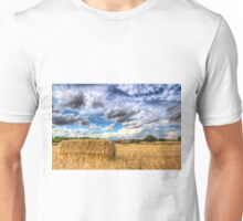 Summer Straw Bales Unisex T-Shirt