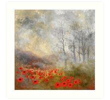 "Artwork 1441 ""Poppies"" Art Print"