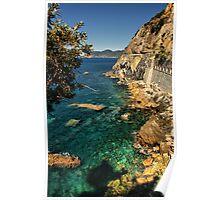 Ligurian Coast Poster