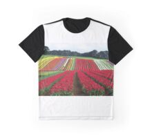 Tulips at Table Cape Graphic T-Shirt