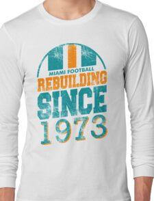 Miami Football - Rebuilding Long Sleeve T-Shirt