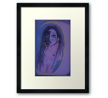 Hendersun Moon Goddess Framed Print