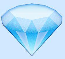 Diamond Emoji by Anna Wilson