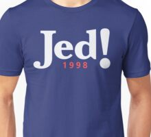 Jed! Bartlet 1998 Campaign Logo (Jeb Bush Spoof) Unisex T-Shirt