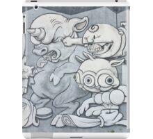 English Mickey Graffiti Wall iPad Case/Skin
