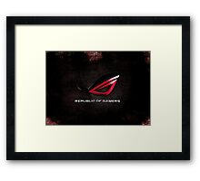 ROG - Republic of Gamers HQ Framed Print