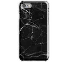 MARBLE - BLACK [iPhone case] iPhone Case/Skin