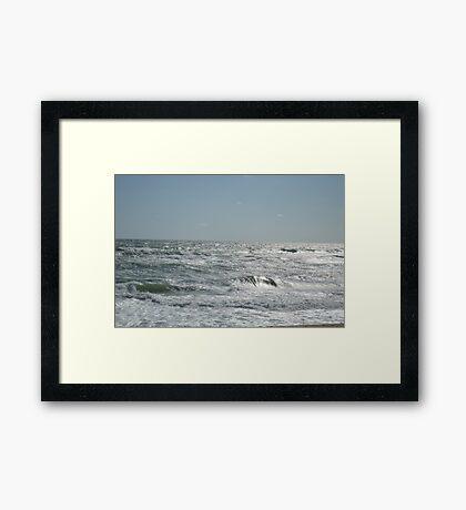 Ocean off Nags Head Framed Print