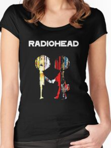 Radiohead Women's Fitted Scoop T-Shirt
