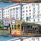 Cable Car 54 San Francisco California by RD Riccoboni by RDRiccoboni