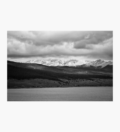 Taylor Reservoir #1 (Black and White) Photographic Print