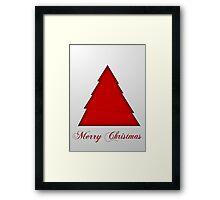 Christmas Card 7 Framed Print
