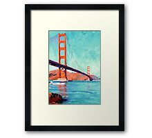 Golden Gate Bridge San Francisco California  Framed Print