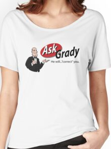 Ask Jeeves/Ask Grady- The Shining Women's Relaxed Fit T-Shirt